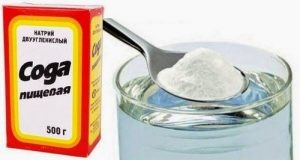 сода при молочнице
