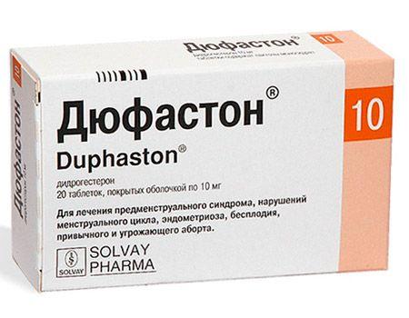 Показания для применения Дюфастона при кисте яичника