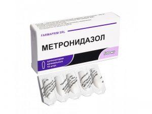 метронидазол при молочнице свечи