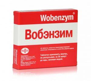 лечение мастопатии вобэнзим