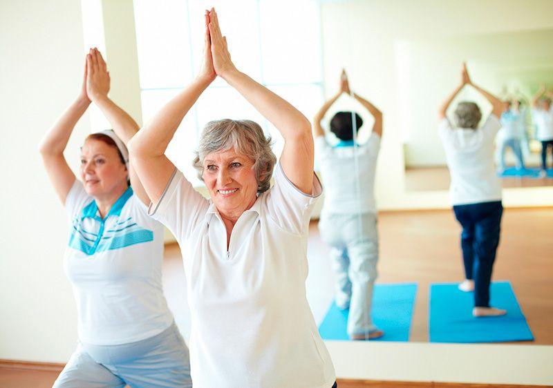 йога при миоме